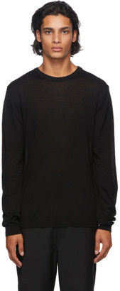 Norse Projects Black Wool Sigfred Sweater