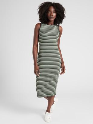 Athleta Sunstream Striped Midi Dress