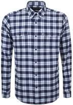 Barbour Whitehall Check Shirt Blue