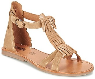 Citrouille et Compagnie GAMELA girls's Sandals in Brown