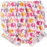 Zutano Ellas Elephants Bloomer (Baby) - White - 6 Months