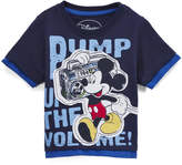 Children's Apparel Network Mickey Mouse Peacock 'Pump Up the Volume' Tee - Toddler