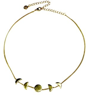 Jules Smith Designs Moon Phase Choker Necklace, 12