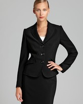 Basler Three Button Pleated Back Blazer - 100% Exclusive