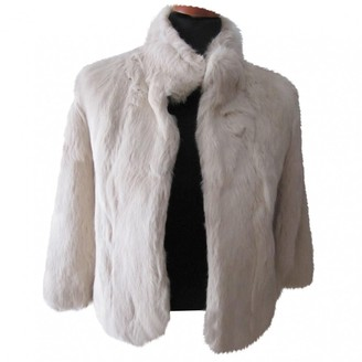 Matthew Williamson Beige Rabbit Jacket for Women