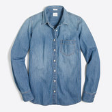 J.Crew Factory Pocket chambray shirt