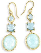 Ippolita 18K Rock Candy Three-Drop Earrings in Waterfall