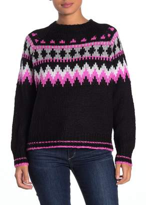 John & Jenn Fair Isle Crew Neck Sweater