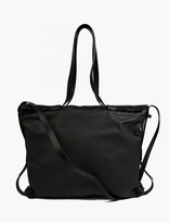 Lanvin Black Leather 2-in-1 Bag