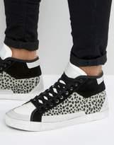 Religion Uptown Hi Top Suede Sneakers