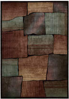 """Nourison Area Rug, Expressions XP05 Multi 2'3"""" x 8' Runner Rug"""