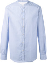 Officine Generale pinstripe shirt - men - Cotton - XL