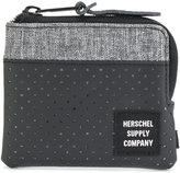 Herschel perforated zip around purse