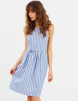Vero Moda Candice Sleeveless Stripe Dress