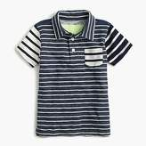J.Crew Boys' mash-up polo shirt