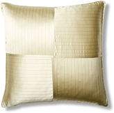 Kumi Kookoon French Pleat Silk Euro Pillow Sham, Sage