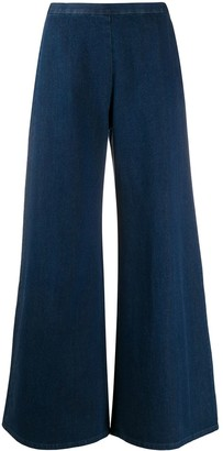 Simon Miller Wide Leg Cotton Trousers
