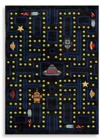 Momeni 'Lil Mo Whimsy LMJ-14 Arcade 8-Foot x 10-Foot Area Rug in Black