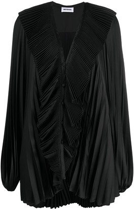 BROGNANO Oversized Pleated Blouse