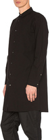Robert Geller Long Shirt in Black. - size 48 (also in )