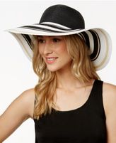 INC International Concepts Striped-Brim Floppy Hat, Created for Macy's