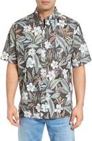 Reyn Spooner Men's Plumeria Isles Classic Fit Sport Shirt
