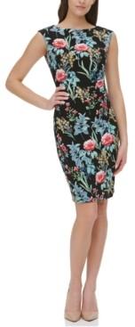 Tommy Hilfiger Floral-Print Sheath Dress