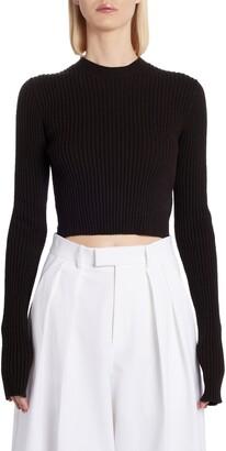 Bottega Veneta Crop Sweater