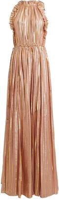 Ulla Johnson Ottilie Striped Lurex Maxi Dress