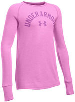 Under Armour Girls 7-16 Raglan Sleeved Pullover