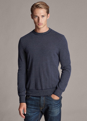 Ralph Lauren Striped Cashmere Sweater