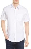 James Campbell Men's Rubens Check Jacquard Sport Shirt