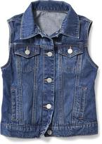 Old Navy Jean Vest for Girls