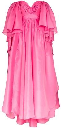 Carolina Herrera Sweetheart Neck Gown