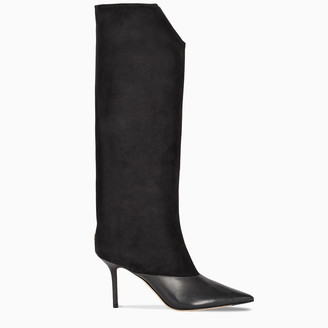 Jimmy Choo Black Brelan 85 boots