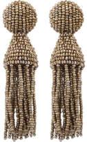 Oscar de la Renta Classic Short Tassel C Earring