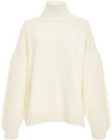 Barrie Fringed Cashmere Sweater