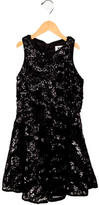 Milly Minis Girls' Sequined A-Line Dress