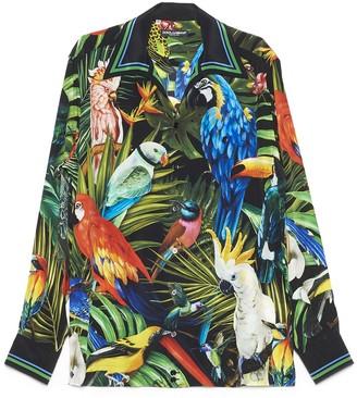 Dolce & Gabbana Birds Print Shirt