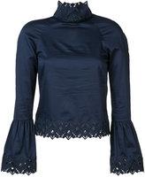 Jonathan Simkhai high neck blouse - women - Cotton - XS