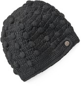 Sijjl SIJJL Fleece-Lined Crochet Wool Beanie Hat