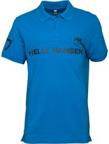 Helly Hansen Mens 77 Numbered Polo Cobalt Blue