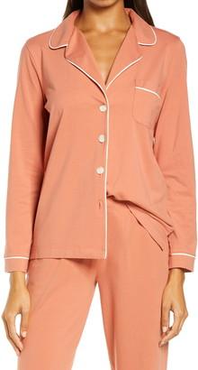 Madewell Knit Bedtime Long Sleeve Pajama Top