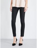 Stella McCartney Zipped-cuffs cotton-blend leggings