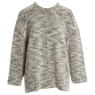 Helmut Lang Grey Cotton Knitwear for Women