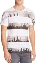 Kid Dangerous Skyline Stripes Graphic Tee