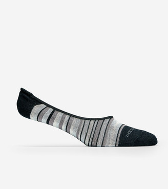 Cole Haan Town Stripe No-show Sock Liner - 2 Pack