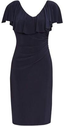 Gina Bacconi Sherilyn Frill Dress