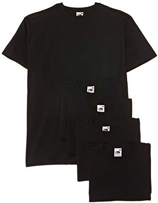Fruit of the Loom Men's Valueweight Short Sleeve T-Shirt Pack of 3