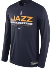 Nike Utah Jazz Men's Practice Long Sleeve T-Shirt